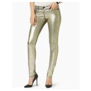 Juicy Gold Skinny Jeans